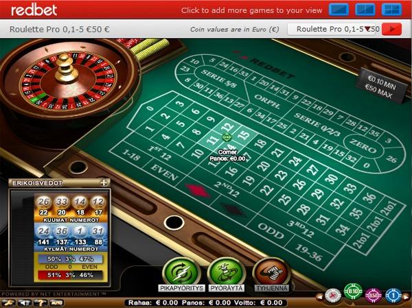 rulettipöytä livekasinolla - Gamble Generation