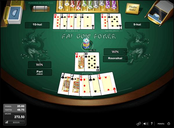 pokeripöytä nettikasinolla - Gamble Generation