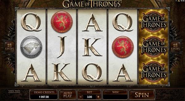 game of thrones kolikkopeli