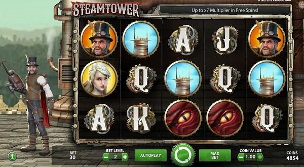 steam tower kolikkopelit