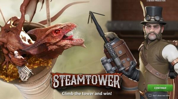 Steam Tower kolikkopeli