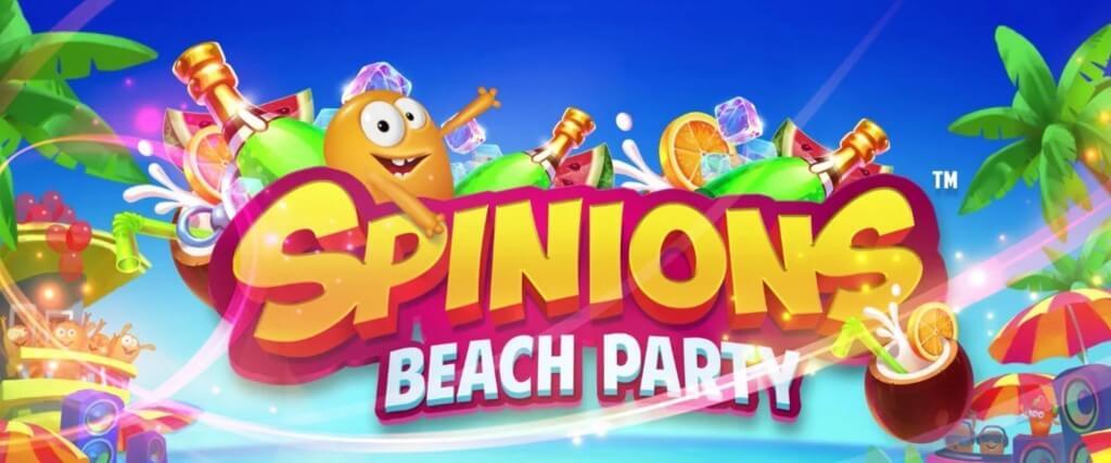 Spinions Beach Party kolikkopeli - Gamble Generation