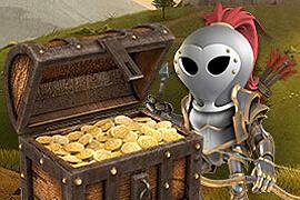 Jackpot Knights tarjoaa 10 ilmaiskierrosta pelitilin avauksella