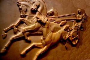 Roomalaisten suosituin rahapeli eli vaunuajot
