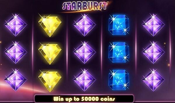 starburst on legendaarinen kolikkopeli