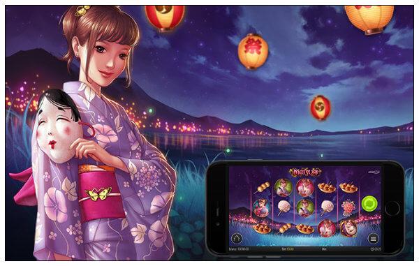 Play'n GO: uusi kolikkopeli Matsuri