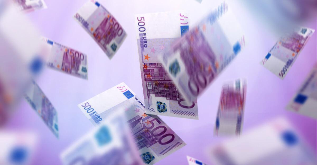 Kasa 500 € seteleitä - Gamble Generation