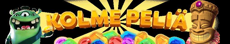 Kolme kolikkopeliä kuva - Gamble Generation