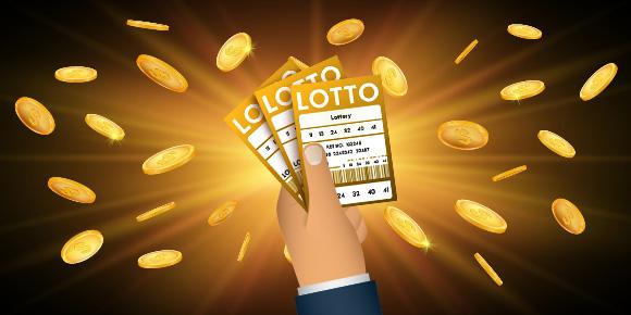 Kolme lottokuponkia kädessä - Gamble Generation
