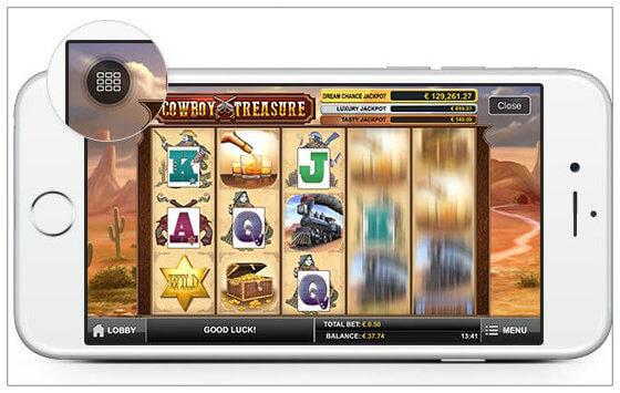 Betsson Jackpot app - casino puhelimessasi