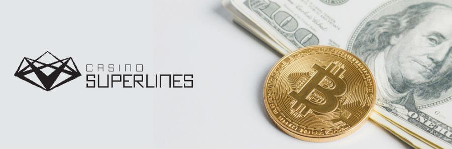 Testaa bitcoinit nettikasinolla - Casino Superlines