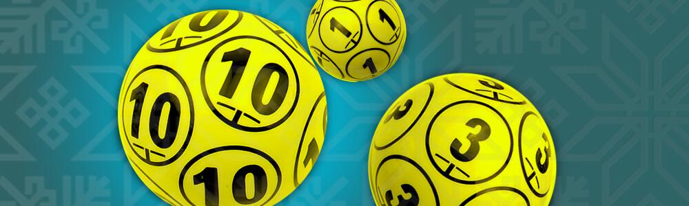 Kolme keno-palloa casinolla