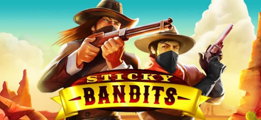 Quickspin - Sticky Bandits kolikkopeli - Gamble Generation