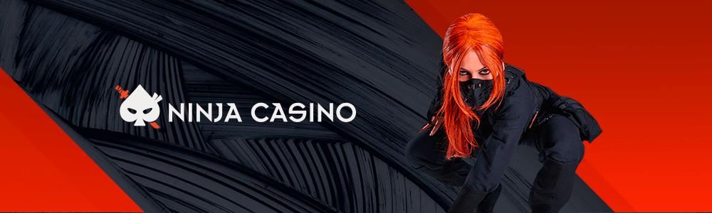 Ninja Casino - pelaa ilman rekisteröitymistä ja lunasta 100 ilmaiskierrosta