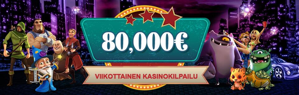 VideoSlots kasinokilpailun mainoskuva - Gamble Generation
