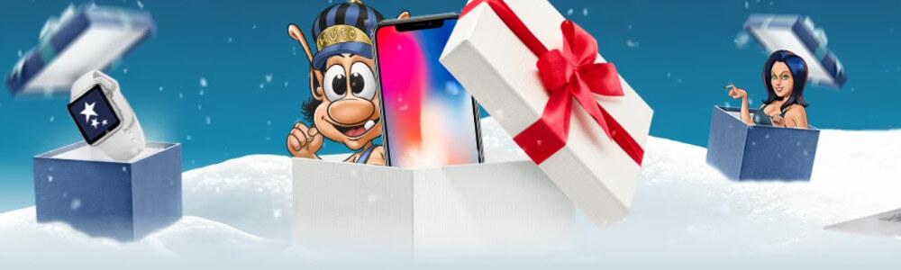 Hugo ja lahjapaketteja netti casinolla