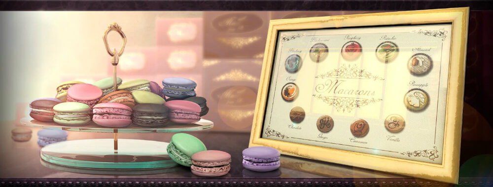 Endorphina Gamingin Macarons on ihana, suloinen kolikkopeli