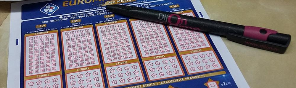 Lottokupunki ja kynä