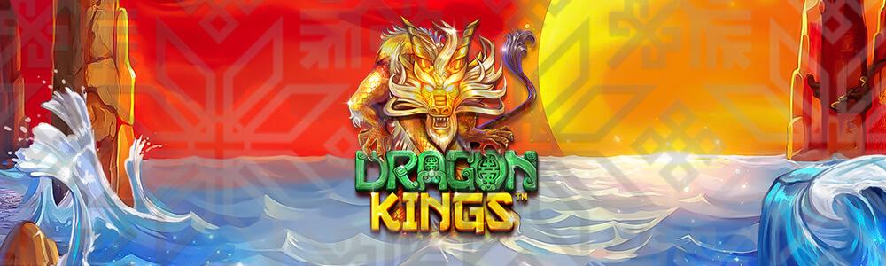 Lohikäärme, vettä ja Dragon Kings logo