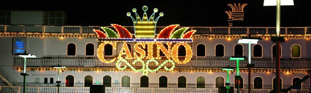 Valokyltti, jossa lukee casino