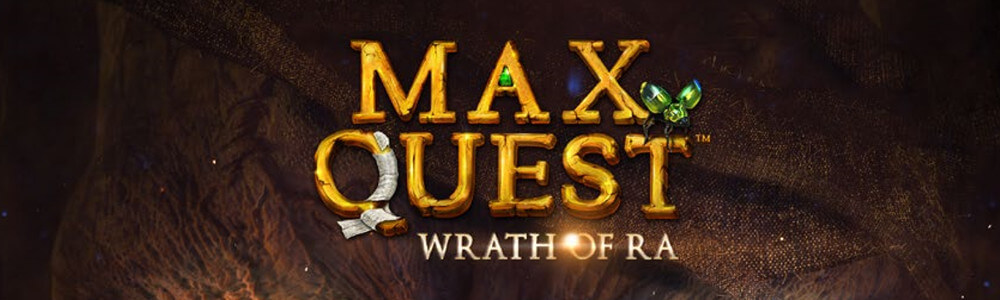 Max Quest slottipelin logo